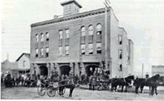 Outside Headquarters, 1903