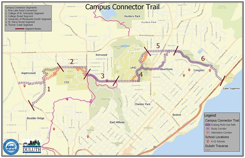 Campus Connector Trail on
